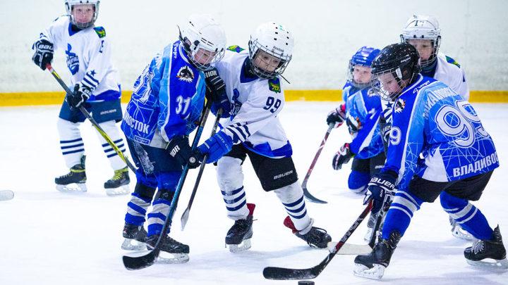 В гостях у «Полюса» юные хоккеисты Пусана