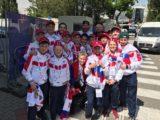 «Полюс» посетил тренировку сборной России по хоккею