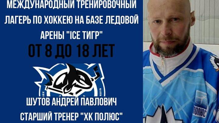 Сборы по хоккею на ледовой арене «ICE Тигр»