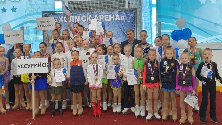 Фигуристы «Полюса» стали призерами соревнований на Сахалине