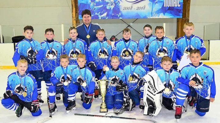 «Полюс-2010» одержал победу в юношеской хоккейной лиге