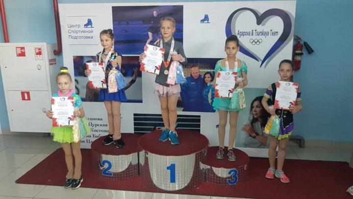 Фигуристы «Полюса» завоевали 12 медалей на соревнованиях в Артеме