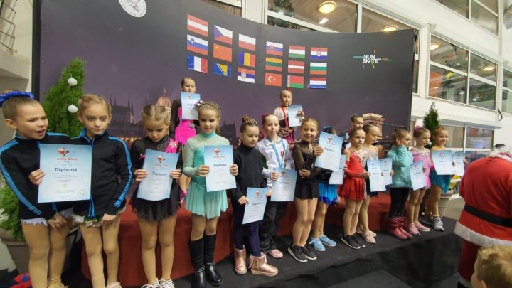 Фигуристы «Полюса» успешно выступили на соревнованиях в Венгрии