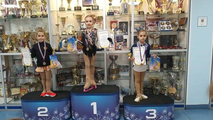 Фигуристы «Полюса» стали призерами соревнований в Подмосковье