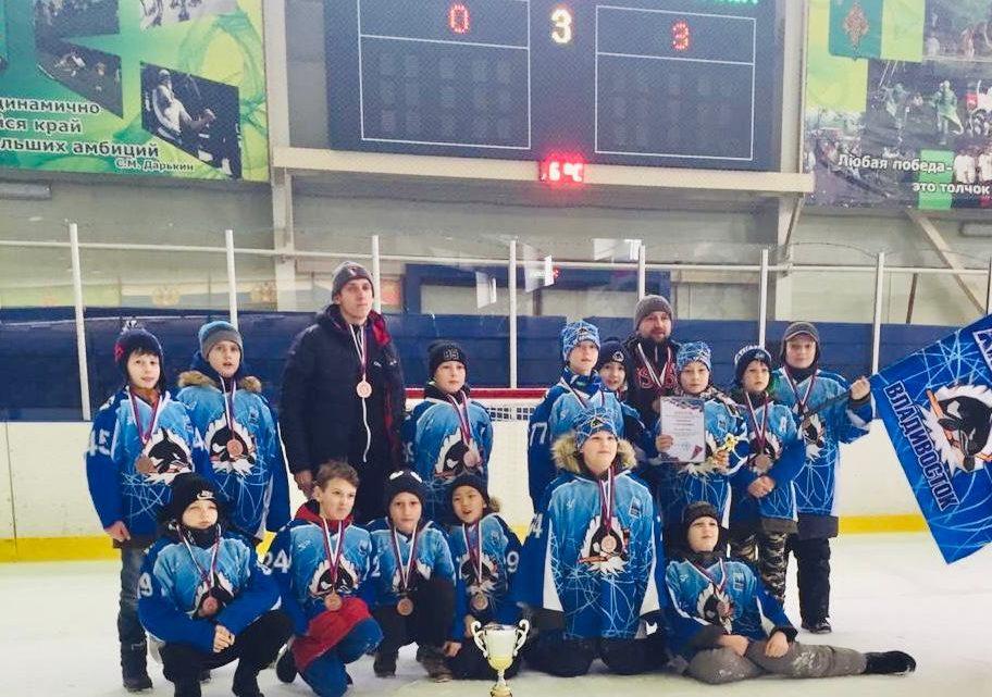 «Полюс-2009» — бронзовый призер краевого этапа «Золотой шайбы»