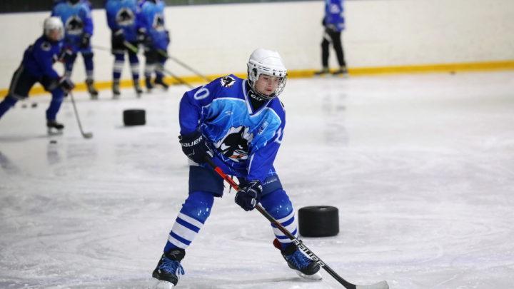 Мастер-класс для хоккеистов «Полюса»