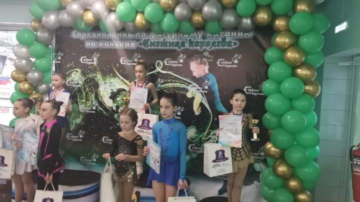 Фигуристы «Полюса» успешно выступили на соревнованиях в Амурской области