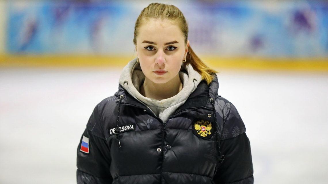 Ксения Касимова приняла участие в тренировках с фигуристами спортивного клуба «Полюс»