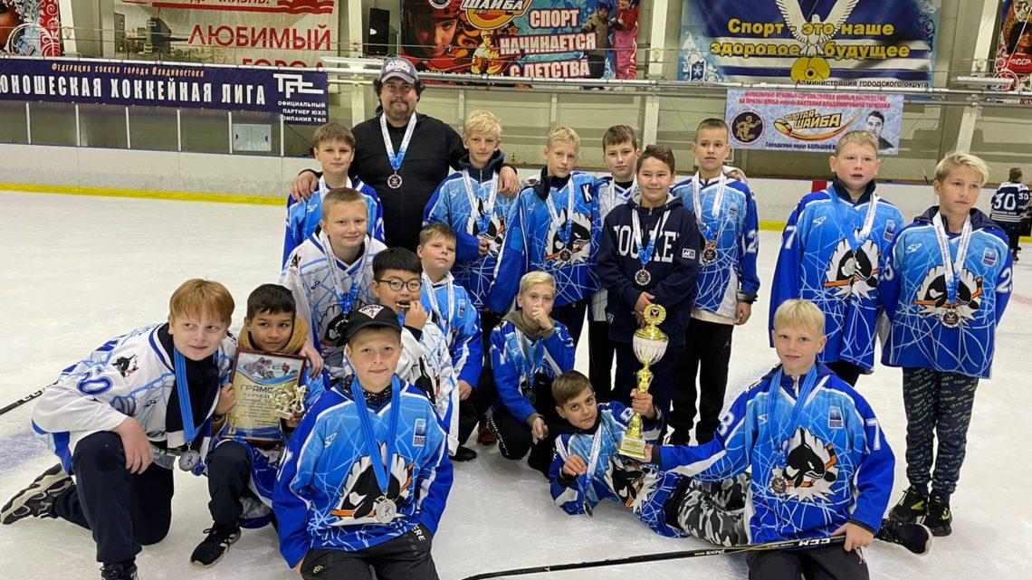 «Полюс-2010» — серебряный призер краевого турнира по хоккею на Кубок главы Большого Камня